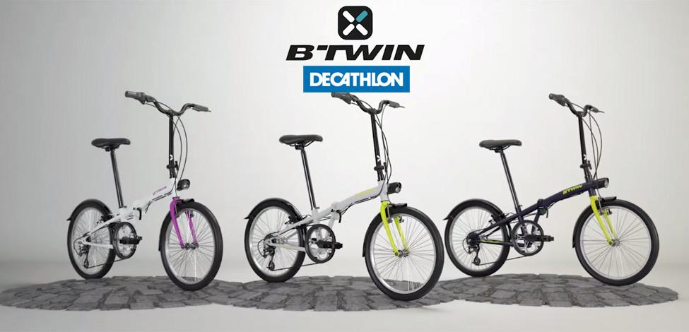 Decathlon bicis plegables