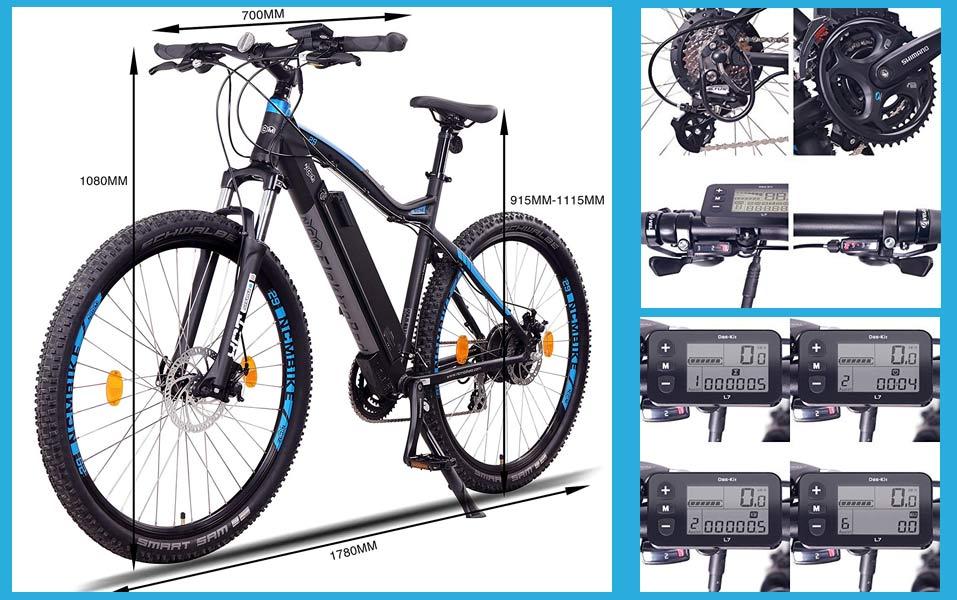 NCM Moscu - Bici de montaña eléctrica