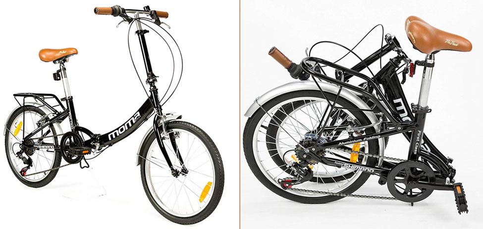 "Moma Bikes Plegable Ruedas 20"" Shimano"