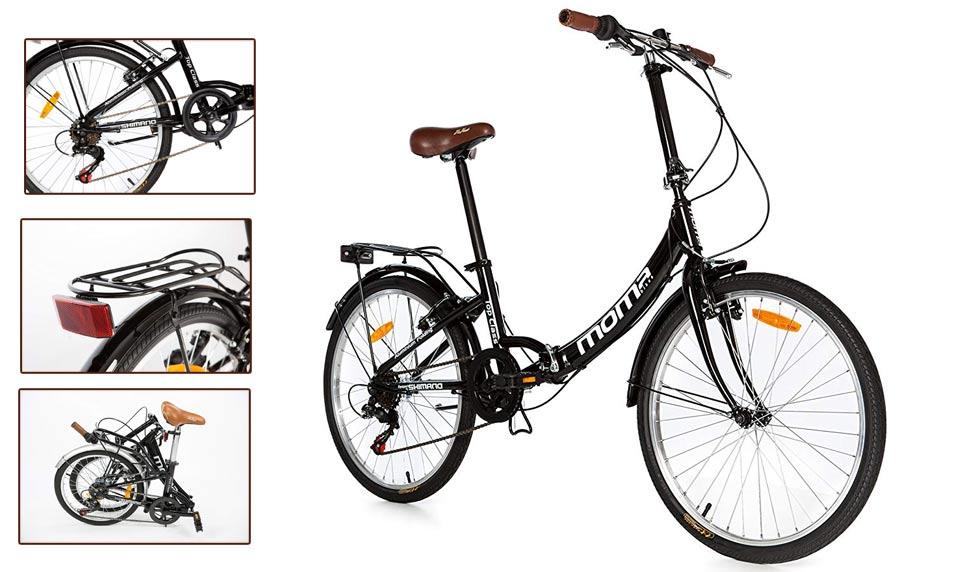 Moma Bikes Bicicleta Plegable Urbana TOP CLASS