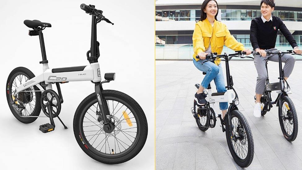 bicicleta eléctrica plegable Xiaomi Himo C20
