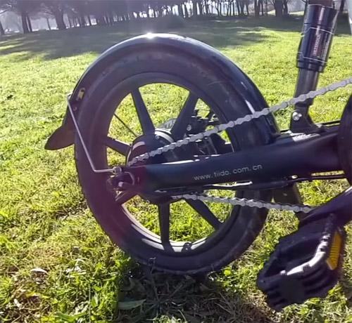 ruedas de la Fiido D2