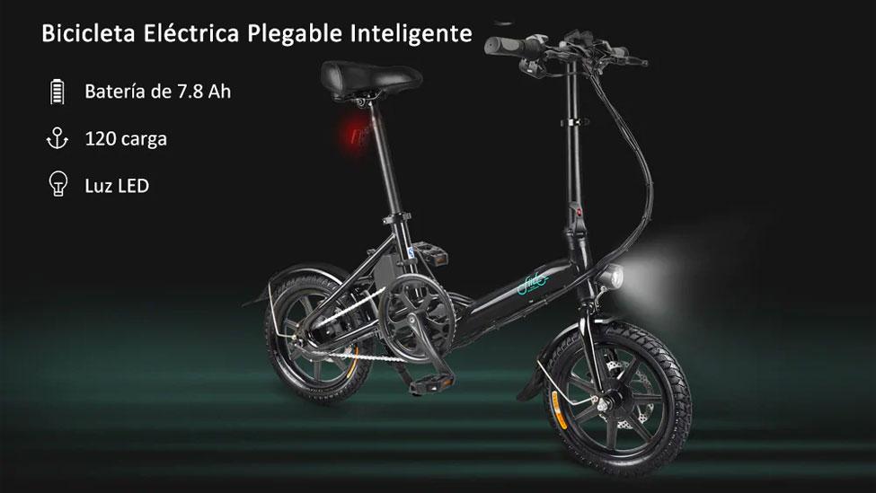 bicicleta Fiido D3